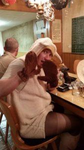 """""""Bamsi das Schaf"""" hatte keine Chance gegen Jogi-Bär und war sichtlich erschrocken!"""
