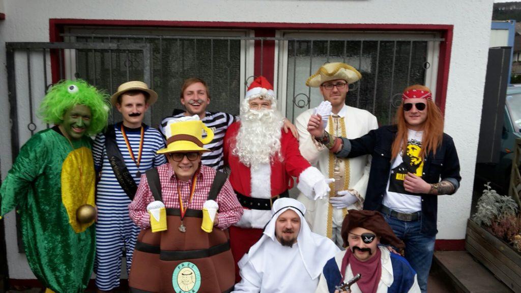 Karnevalskegeln 2016